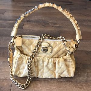 Marc Jacobs patent leather big chain bag